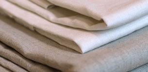 UFのカーテン用リネン